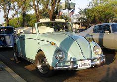 VW Beetle Convertible - 1962
