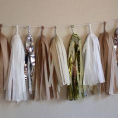 Tassel Garland tassel garland, wedding ideas, wedding decorations, weddings, wedding blog, amaz spark, garlands, tassels, parti