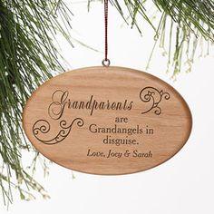 Grandparents Personalized Ornament