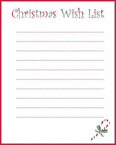 My Grown-Up Christmas Wish List (And A Free Printable)!  *That One Mom*