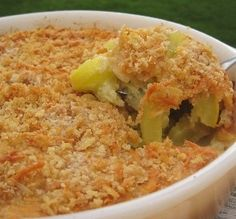 "Charleston Squash Casserole: ""In one word ...YUM! The touch of nutmeg makes it special!"" -Aroostook"