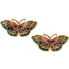 The Met Store - Qing Butterfly Earrings