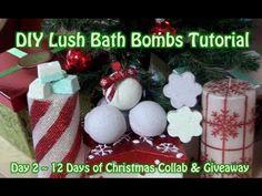 DIY Lush Bath Bomb Tutorial + Giveaway!!