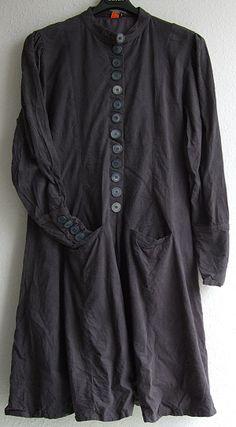 long grey coat dress