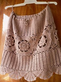 Brasil Tricô e Crochê - Handmade encomendas: Saias curtinhas de crochê