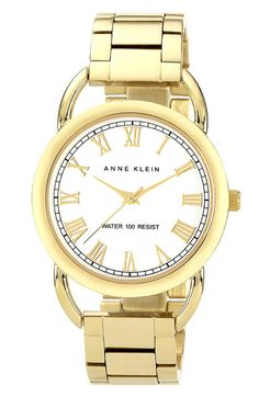 Anne Klein Round Bracelet Watch available at #Nordstrom