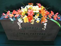 cemetery flowers saddle arrangements - Google Search