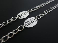 Brave bracelets for kids - wonderful gift for kids experiencing change of any kind.