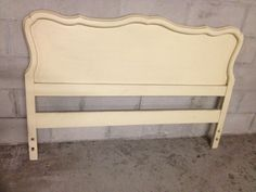 French Provincial headboard, $40 on craigslist :)