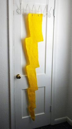 Lightning Bolt #scarf free #crochet pattern