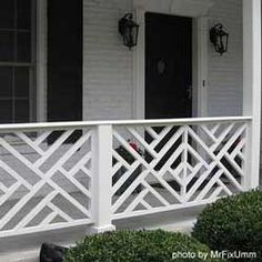 Chippendale railing.