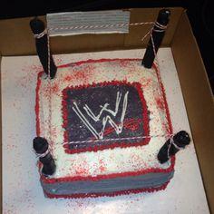wrestlemania cake