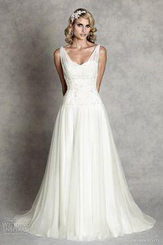 http://weddinginspirasi.com/2012/02/08/amanda-wyatt-wedding-dresses-enchanted-bridal-collection/  amanda wyatt 2012 wedding dress  #weddingdress #weddings #bridal #wedding #sposa #novia #bride