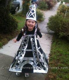 Cutest Ooh La La Eiffel Tower Costume... Coolest Halloween Costume Contest