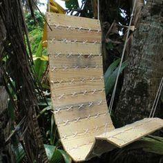DIY Hanging Pallet Chair