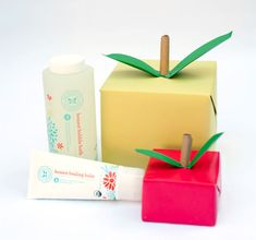 teacher gifts, gift boxes, gift wrap, diy appl, appl gift