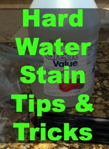 Heathly (no chemicals) cleaning tricks and tips!