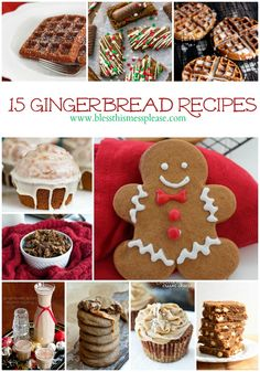 15 Tasty Gingerbread