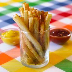 """Oven Baked """"Fries"""" — Punchfork"""