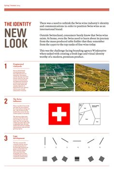 Brand Guideline for New Logo for Swiss Wine Promotion by Winkreative