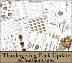 Thanksgiving Printables Update