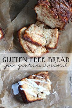 Gluten Free Bread YOU Made (& Bread FAQs)