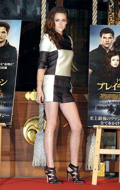Kristen Stewart. love her dress