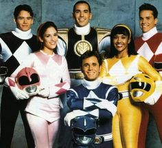 Power Rangers. I always wanted to be the pink power ranger.