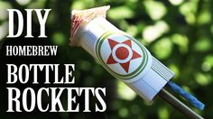 Home-brew Bottle Rockets - (From Household Materials)  In this project, we're making a simple, and safe, bottle rocket, out of common household materials.    http://www.thekingofrandom.com