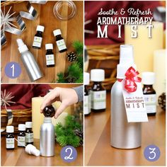 Soothe & Refresh Aromatherapy Mist Recipe