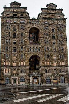 Grand Old Philadelphia Building - Abandoned