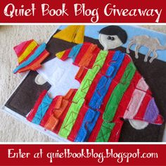 Today is the last day of the Bible Stories quiet book Template Giveaway! Enter now, before you forget!