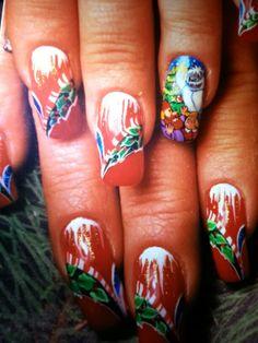 nail art by Susan Tumblety. In Sync Salon, Main St. Matawan, NJ. 07747