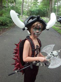 Barbarian costume contest at Renaissance faire