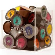 <3 the acrylic capsule cube !    The perfect accompaniment to your favorite CBTL® capsules.