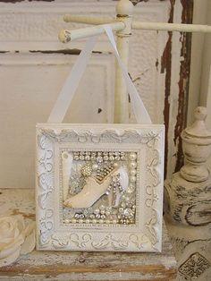 white fairy bling shoe hanging | Flickr - Photo Sharing!