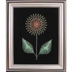 String Art Flower