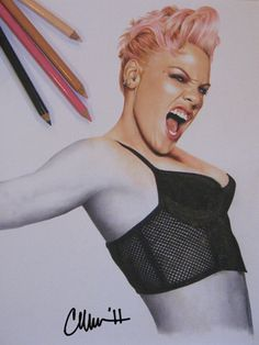 Pink Drawing by Live4ArtInLA.deviantart.com