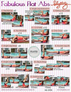 Pilates Exercises for Butt and Abs | Fitbie