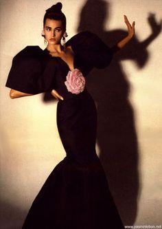Martha 1987/'88  Photographer: Gideon Lewin  Model: Yasmin Le Bon