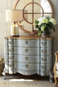 Holland Bay Four-drawer Chest - Old World Four Drawer Chest, Furniture, Home Decor | Soft Surroundings