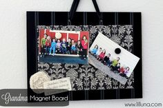 Photo Magnet Board (Tutorial)