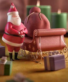 Santa by Jason Lee, via Behance