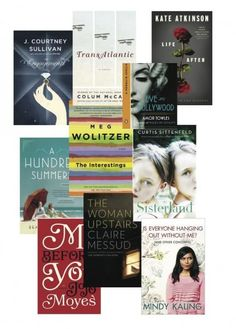 Our Book-Club Summer Reading List