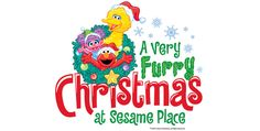 It's A Very Furry Christmas at Sesame Place! Open select dates November 17th – December 31st.  Join us for a one-of-a-kind family-friendly celebration with everyone's favorite furry friends. The fun starts with 3 special Christmas shows, dry rides (weather permitting), awesome music and twinkling lights all around. Our street will glow with festivities and come to life at night with our illuminated Neighborhood Street Party Parade.