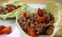 Cheeseburger Lettuce Wraps - 5pp/2 wraps. Made these tonight - SO GOOD! The picture doesn't do it justice. I didn't have all the exact ingredients so I used turkey instead of beef and garlic and herb laughing cows instead. This was the easiest pinterest recipe I've ever made. Will certainly make again! - SG