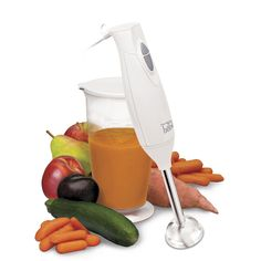 Hand Blender...blend, mix, puree and whip with ease.
