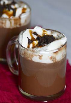 #Salted #Caramel #Hot #Chocolate
