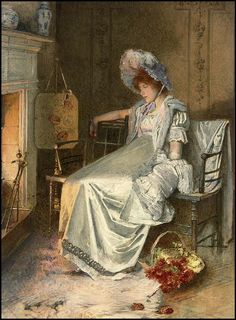 Fireside Reflections, Carlton Alfred Smith. English (1853-1946)