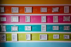 Striped Alphabet Accent Wall in the Nursery - Project Nursery